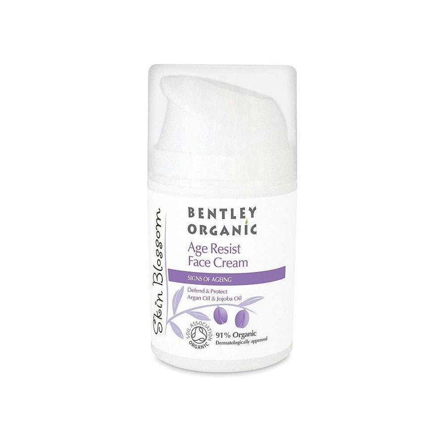 Bentley Organic Skin Blossom Krem przeciwzmarszczkowy do twarzy