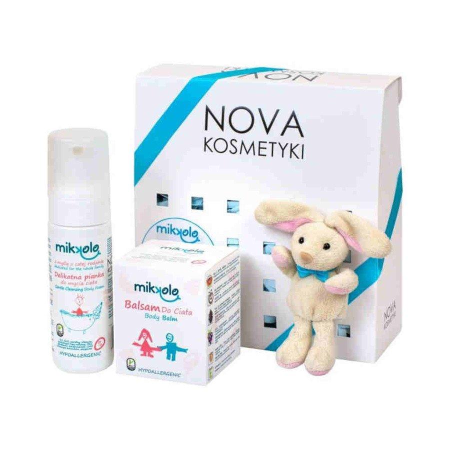 Beztroski kokos zestaw kosmetyków dla dzieci Mikkolo Nova