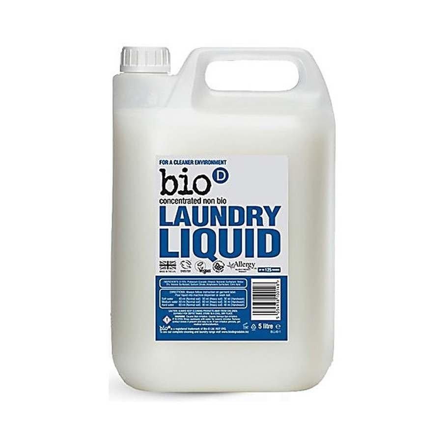 Bio-D Bezzapachowy płyn do prania niebiologiczny koncentrat 5l