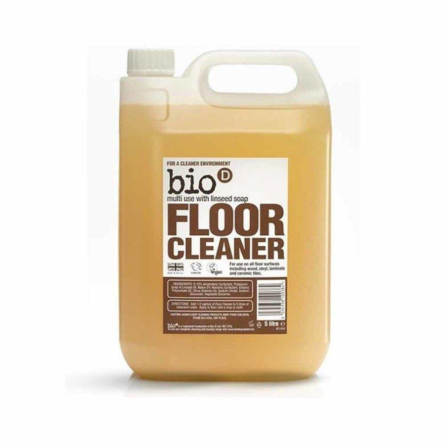 Bio-D Ekologiczny płyn do podłóg z mydłem z olejku lnianego 5 l