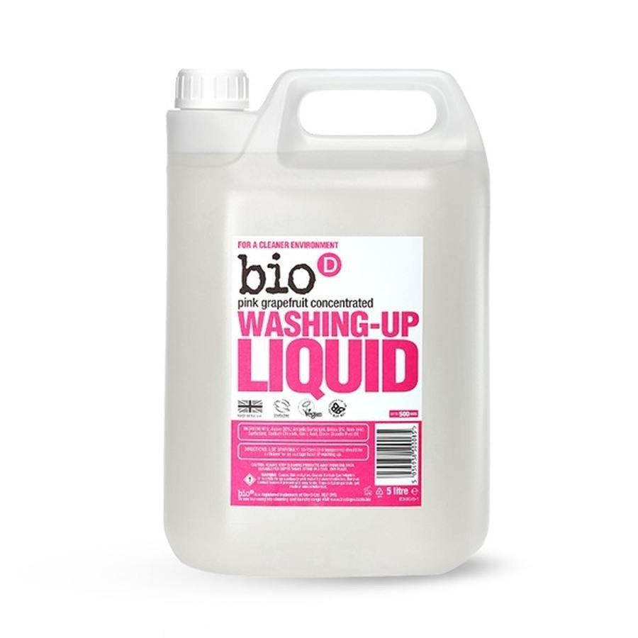 Bio-D Hipoalergiczny płyn do mycia naczyń grejpfrutowy koncentrat 5l