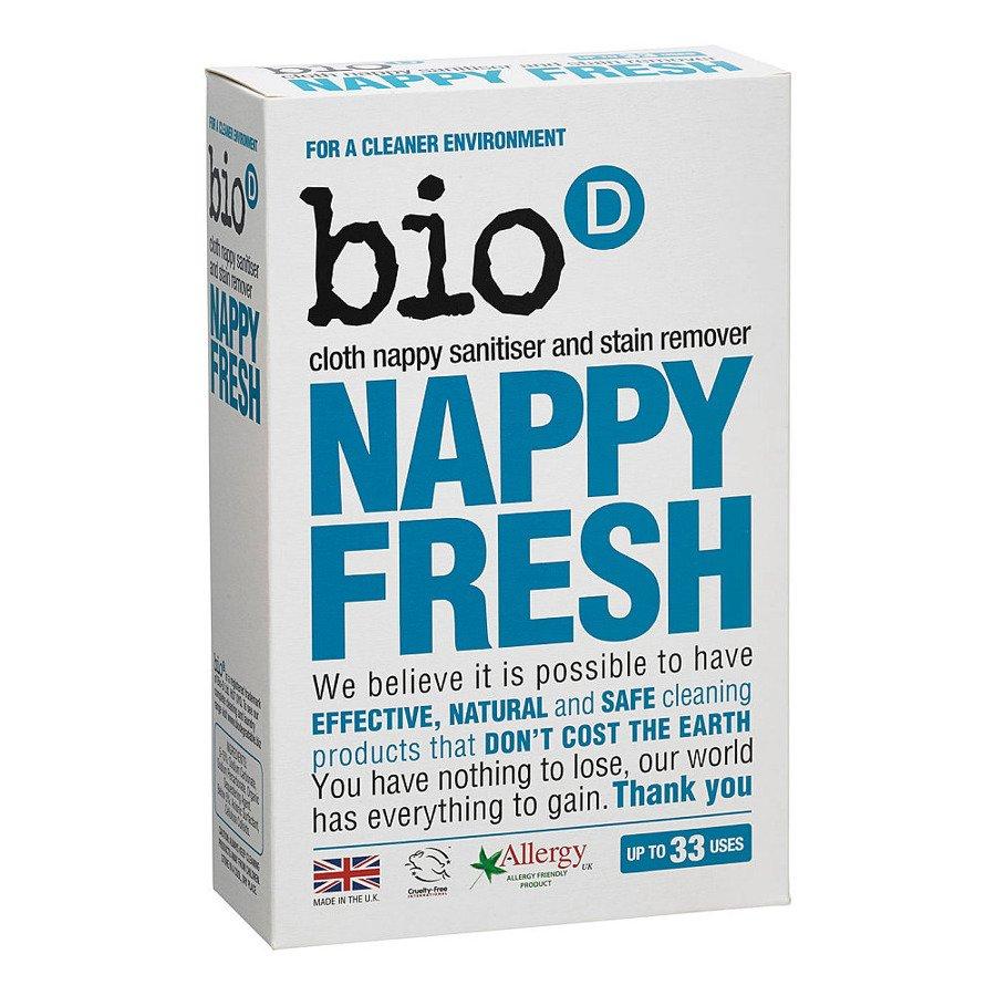 Bio-D Nappy Fresh Dodatek antybakteryjny do prania pieluch 500 g