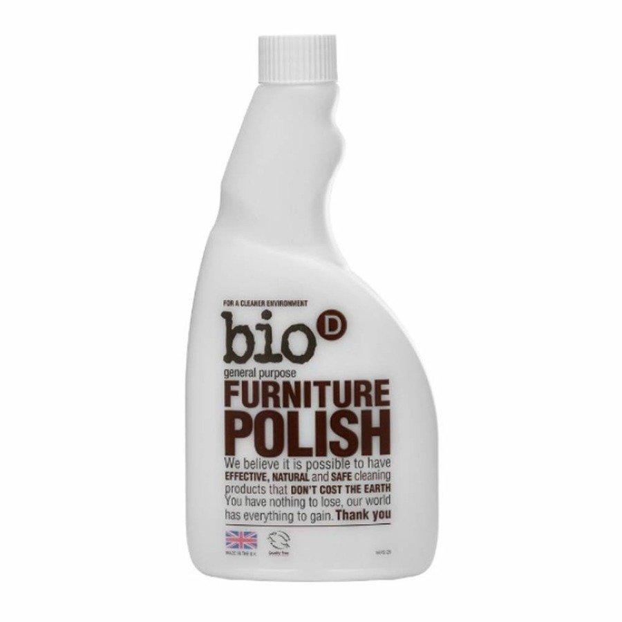 Bio-D Spray do polerowania mebli uzupełnienie 500 ml