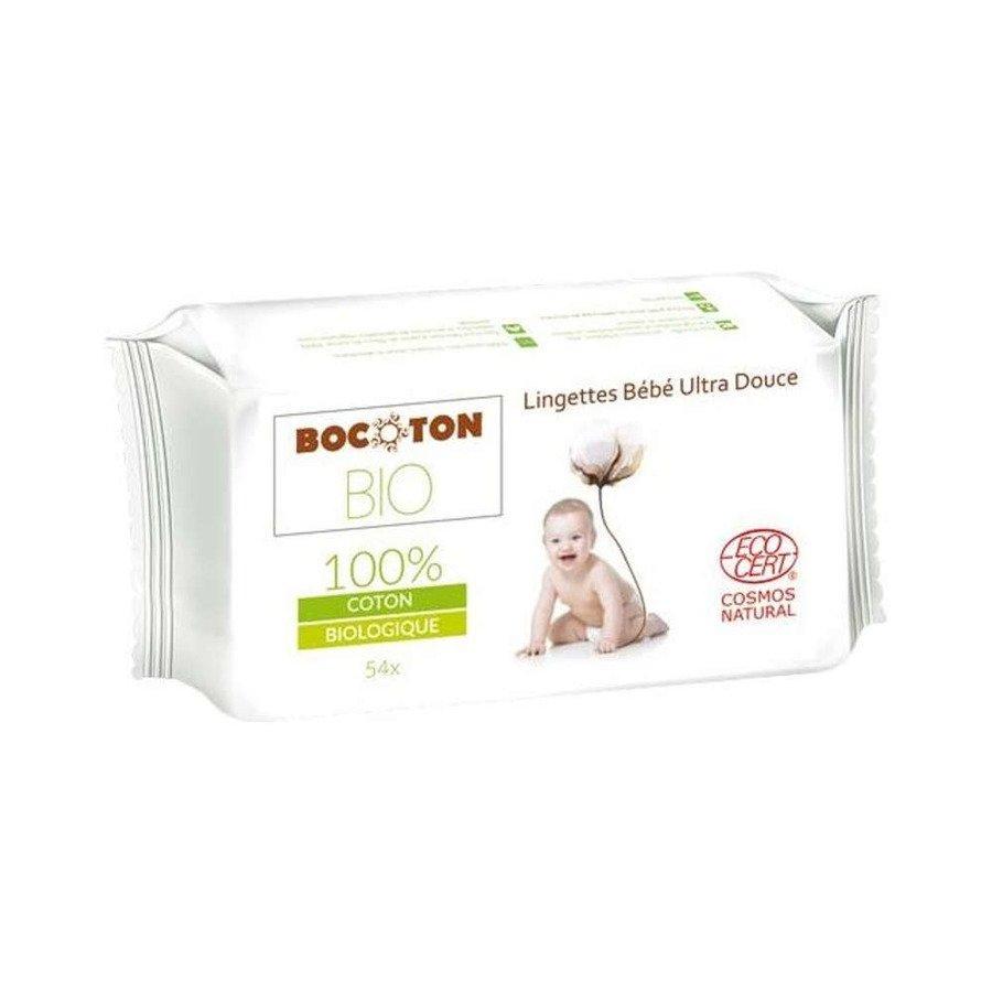 Bocoton Chusteczki nawilżone dla dzieci i niemowląt 54 szt.