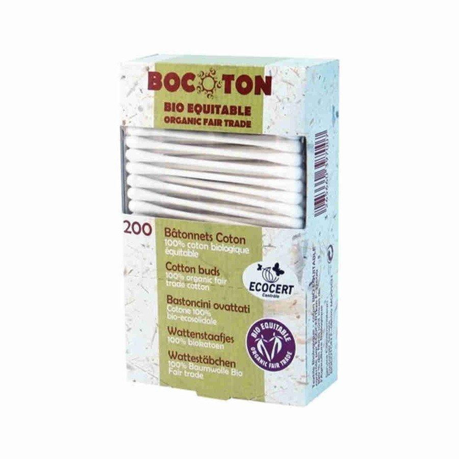 Bocoton Ekologiczne patyczki kosmetyczne 200 szt.