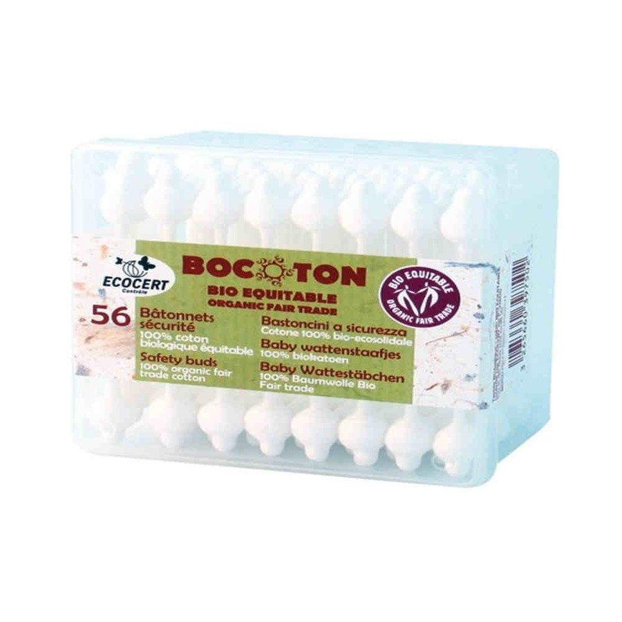 Bocoton Ekologiczne patyczki kosmetyczne dla dzieci 56 szt.
