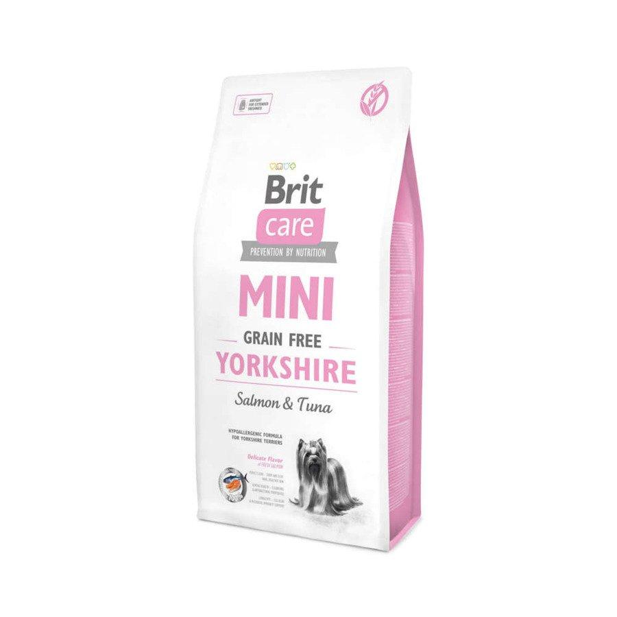 Brit Care GF Bezzbożowa karma sucha dla dorosłych psów rasy Yorkshire Terrier 7 kg