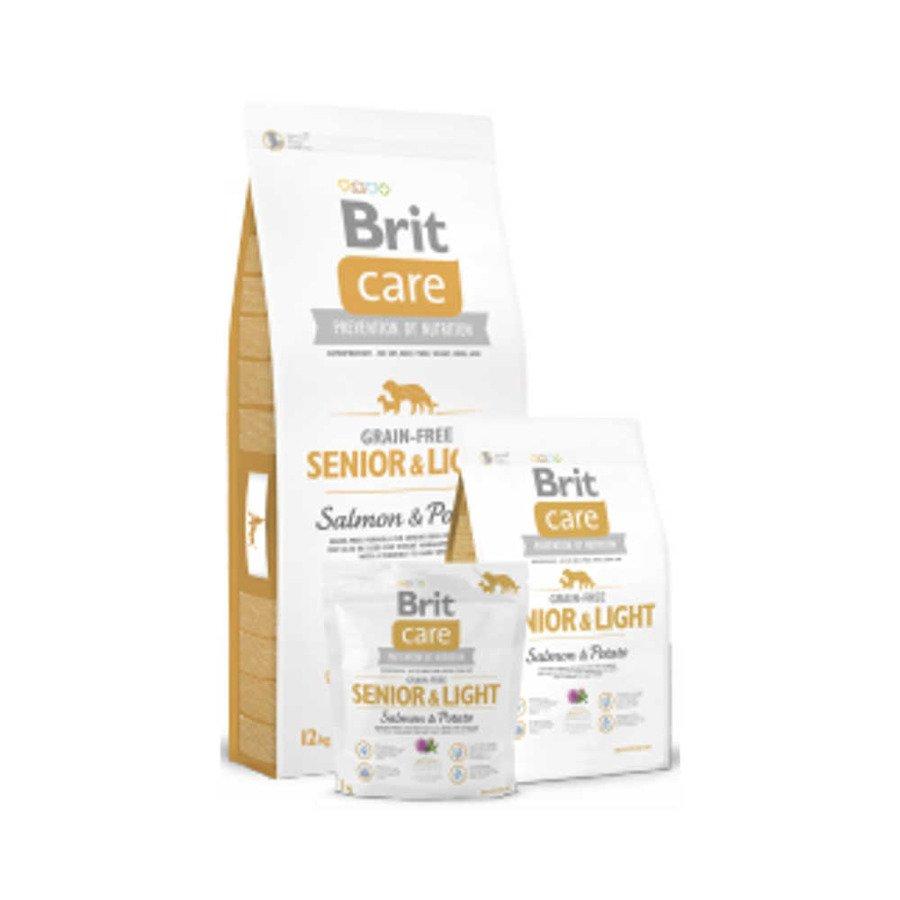 Brit Care GF Bezzbożowa karma sucha dla starszych psów wszystkich ras z łososiem i ziemniakami 1 kg