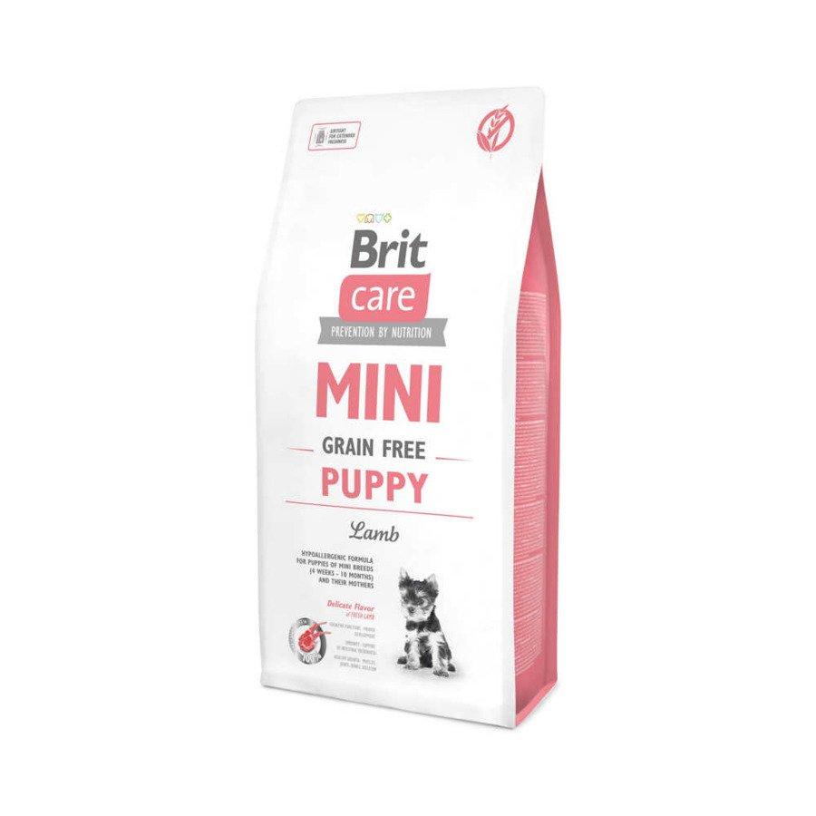 Brit Care GF Bezzbożowa karma sucha dla szczeniąt ras miniaturowych z jagnięciną 400 g