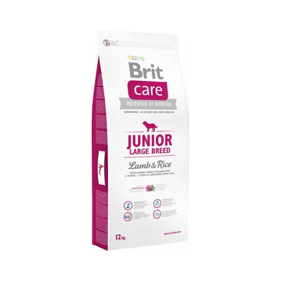 Brit Care Hipoalergiczna karma sucha dla młodych psów ras dużych z jagnięciną i ryżem 12 kg