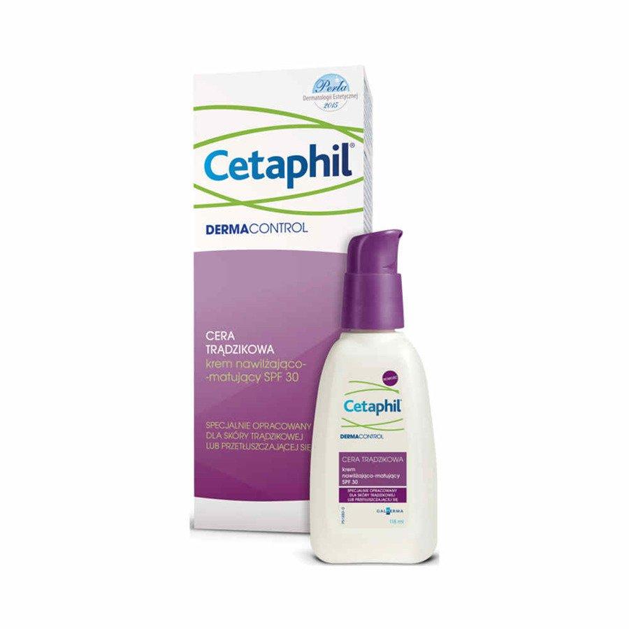 Cetaphil Dermacontrol krem nawilżająco-matujący SPF 30 118 ml