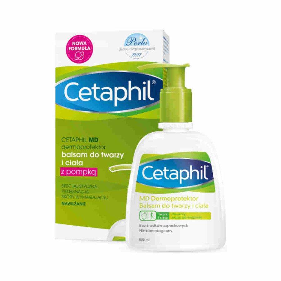 Cetaphil MD Dermoprotektor balsam nawilżający do twarzy i ciała 500 ml