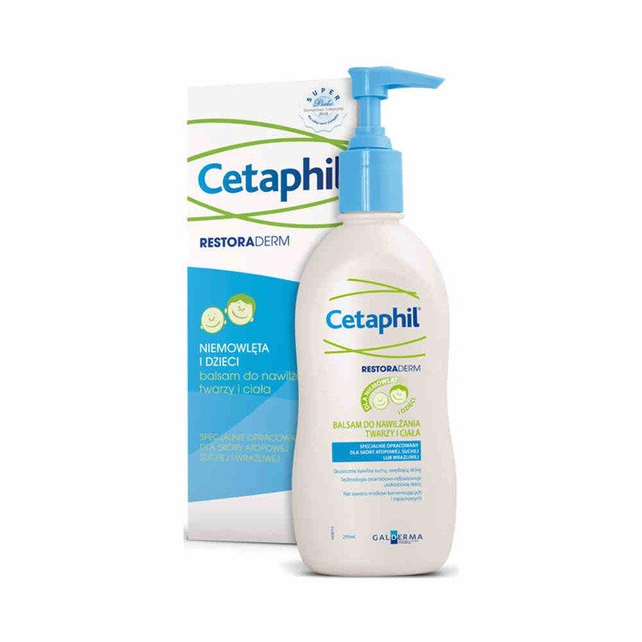 Cetaphil Restoraderm balsam do nawilżania twarzy i ciała 295 ml