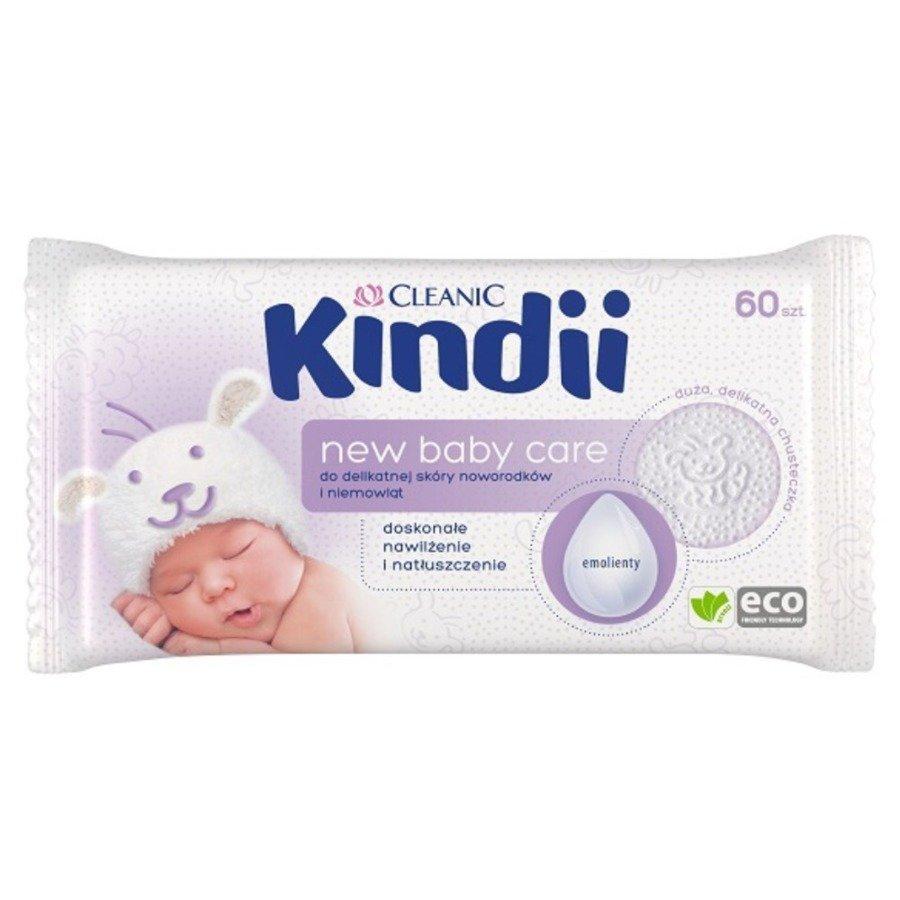 Cleanic Kindii new baby care Hipoalergiczne chusteczki nawilżane