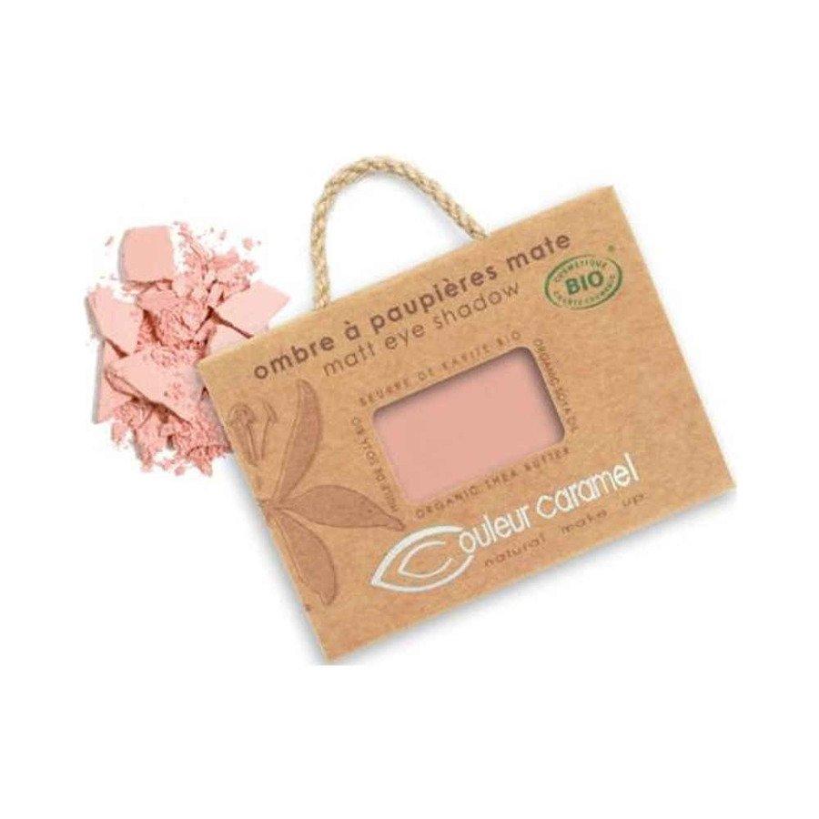 Couleur Caramel Naturalny cień do powiek matowy 017 pink