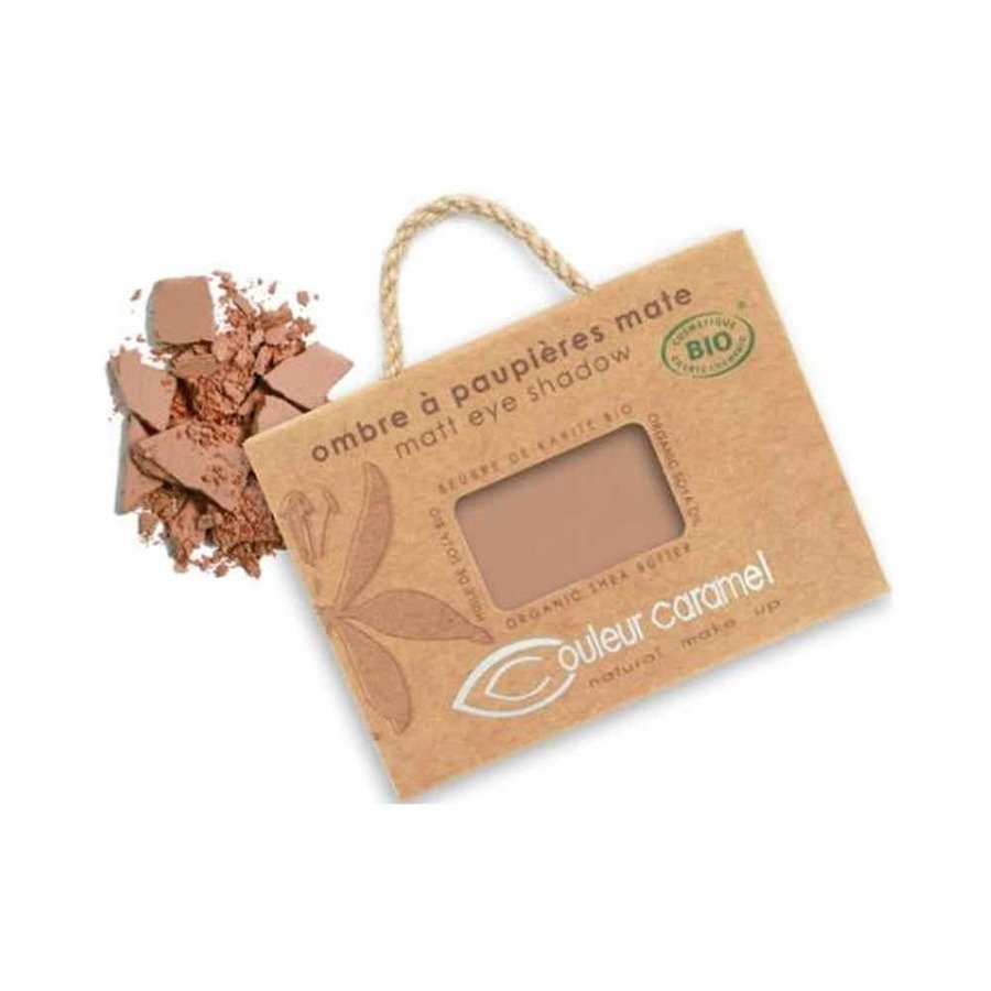 Couleur Caramel Naturalny cień do powiek matowy 080 matt cocoa