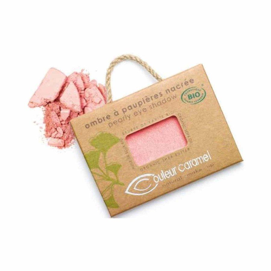 Couleur Caramel Naturalny cień do powiek satynowy 016 pearly pink