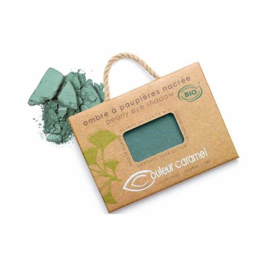 Couleur Caramel Naturalny cień do powiek satynowy 050 zielona mgiełka