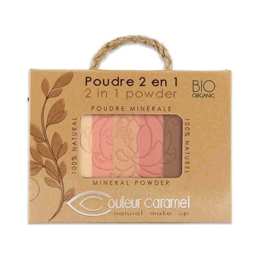 Couleur Caramel Puder mozaika 2w1