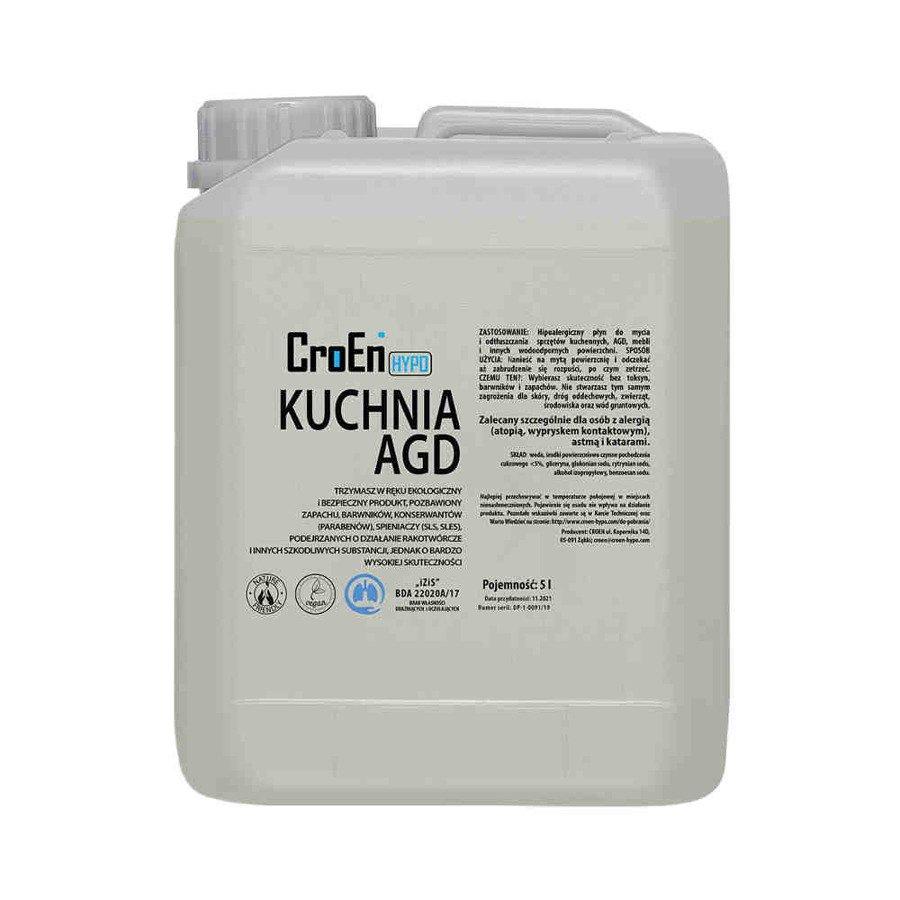 Croen Hypo Kuchnia AGD hipoalergiczny płyn do czyszczenia 5 l