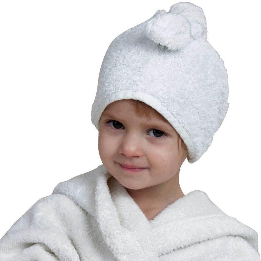 Cuddledry Cuddletwist Ręcznik na włosy biały