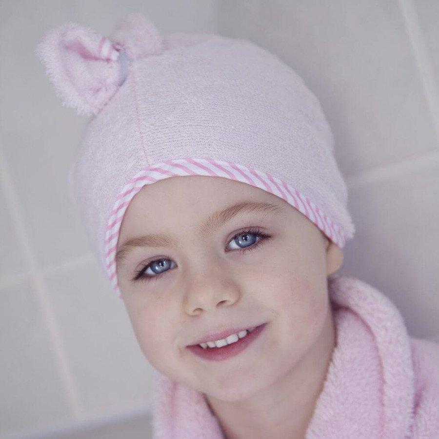 Cuddledry Cuddletwist Ręcznik na włosy różowy