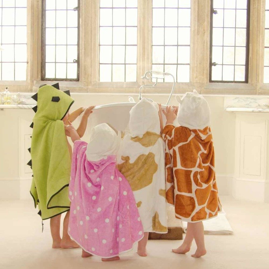 Cuddledry Dziecięcy ręcznik bambusowy biedronka