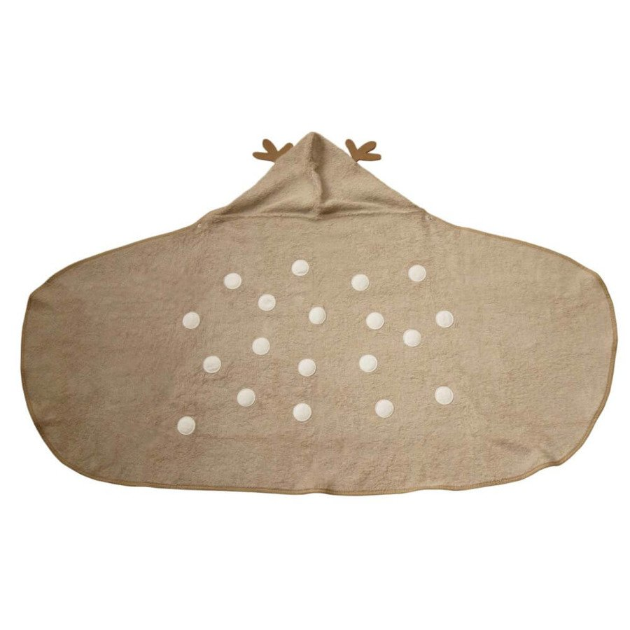 Cuddledry Dziecięcy ręcznik bambusowy jelonek