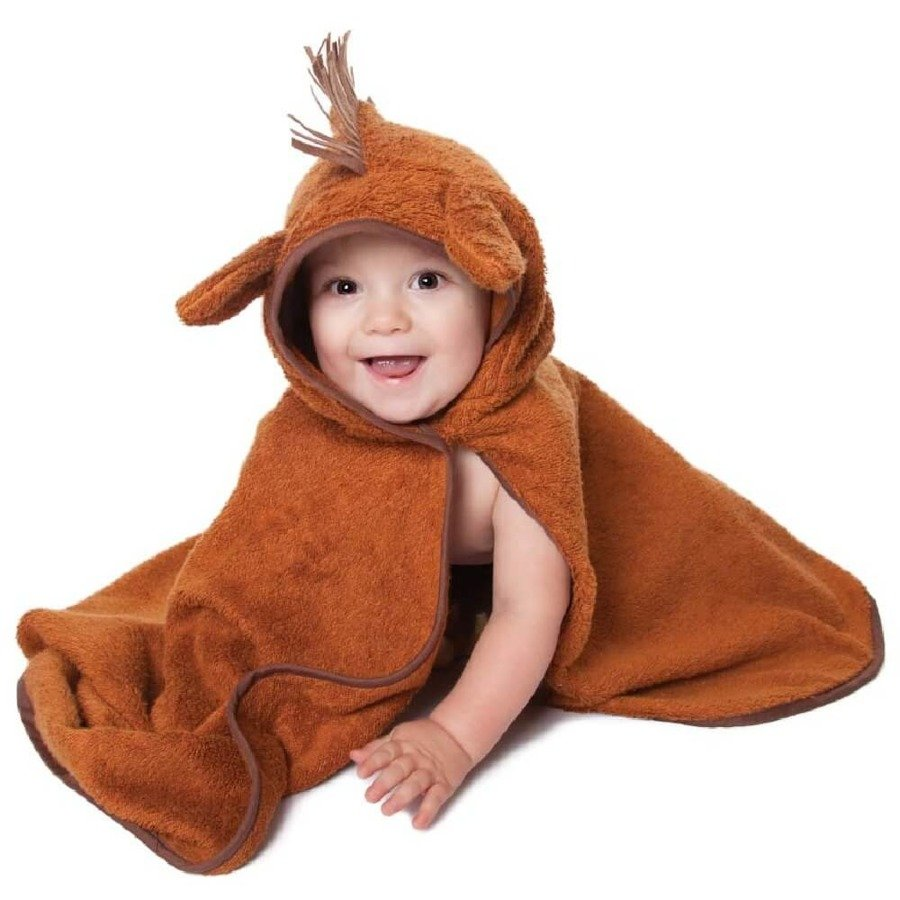 Cuddledry Dziecięcy ręcznik bambusowy konik