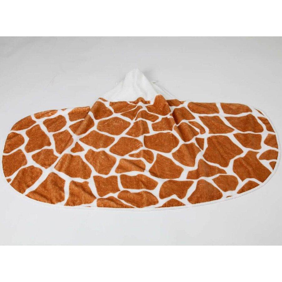 Cuddledry Dziecięcy ręcznik bambusowy żyrafka