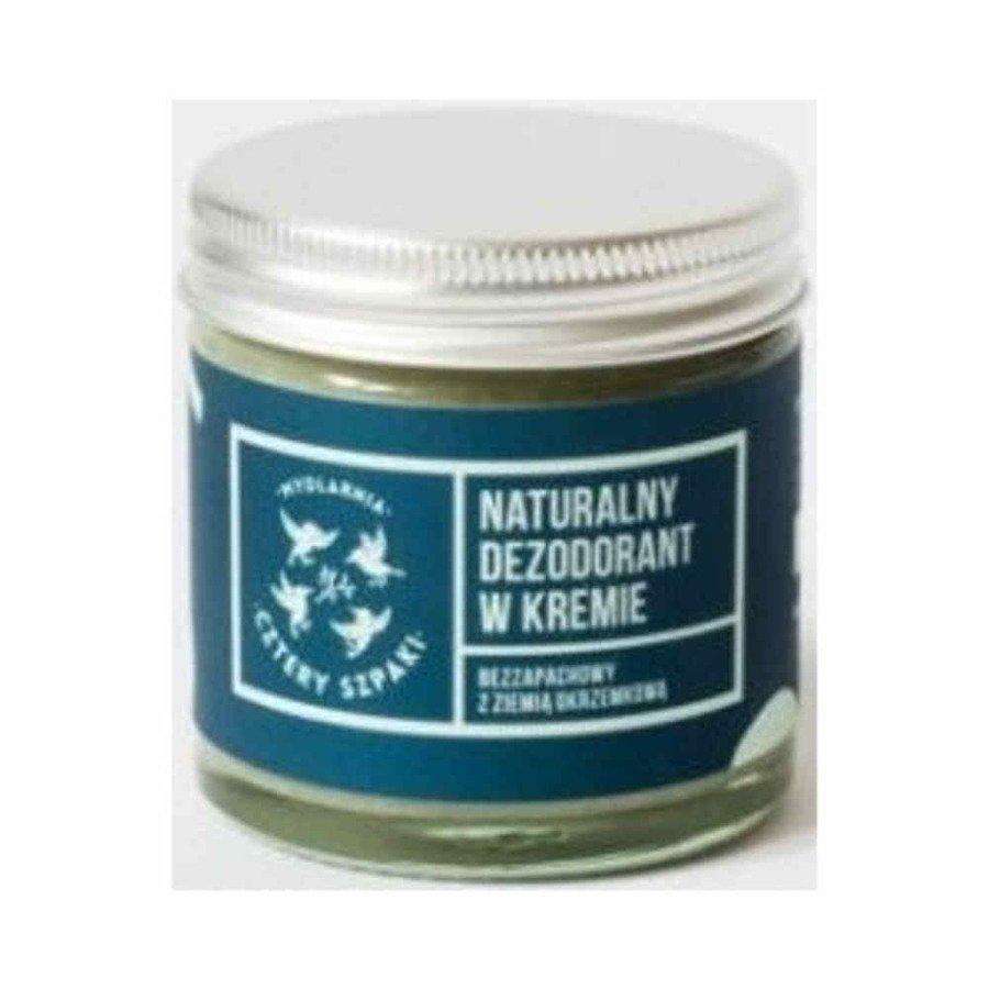 Cztery Szpaki Naturalny dezodorant w kremie bezzapachowy 60 ml