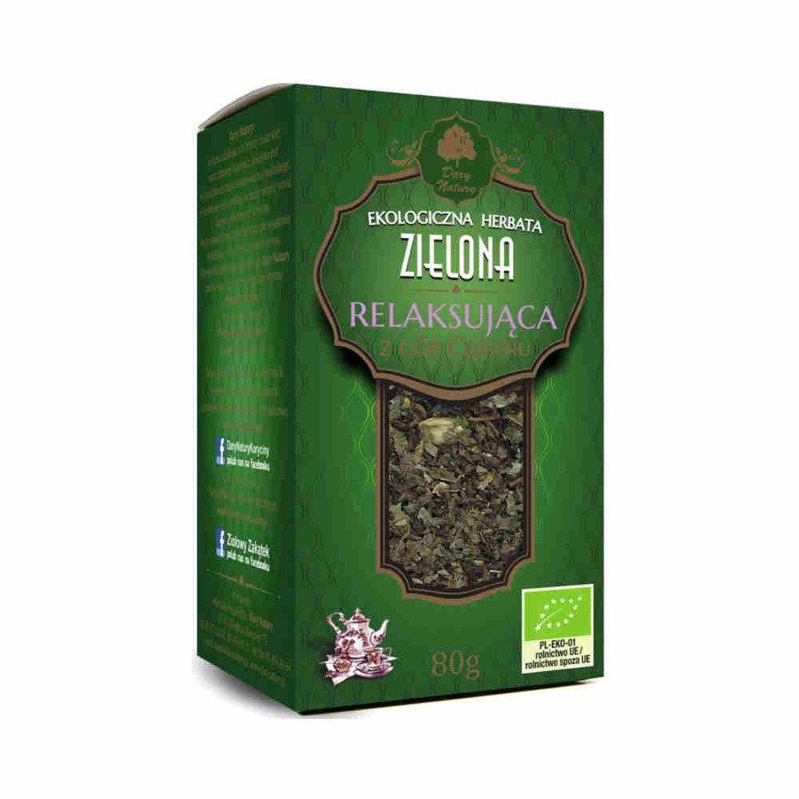 Dary Natury Ekologiczna herbata zielona relaksująca 80 g