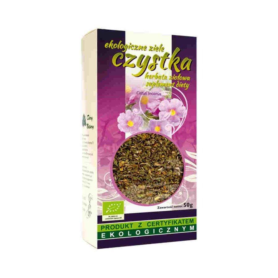 Dary Natury Ekologiczna herbata ziołowa ziele czystka 50 g