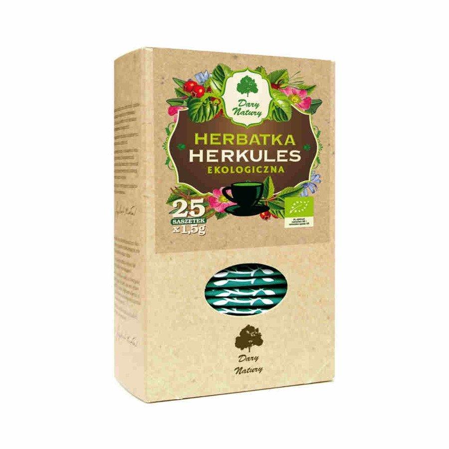 Dary Natury Ekologiczna herbatka Herkules 25x1,5 g