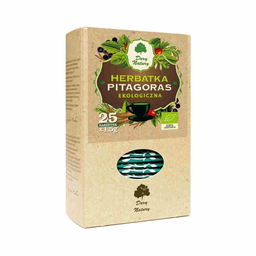 Dary Natury Ekologiczna herbatka Pitagoras 25x1,5 g