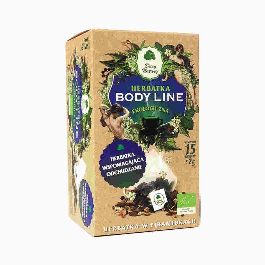 Dary Natury Ekologiczna herbatka body line 15x2 g