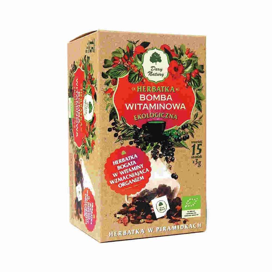 Dary Natury Ekologiczna herbatka bomba witaminowa 15x3 g
