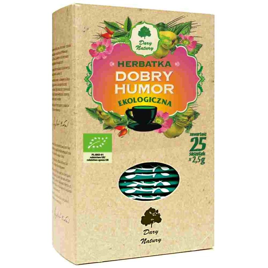 Dary Natury Ekologiczna herbatka dobry humor 25x2 g