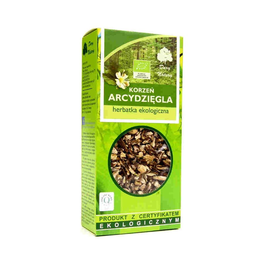 Dary Natury Ekologiczna herbatka korzeń arcydzięgla 100 g