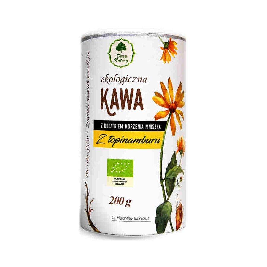 Dary Natury Ekologiczna kawa z topinamburu z korzeniem mniszka 200 g