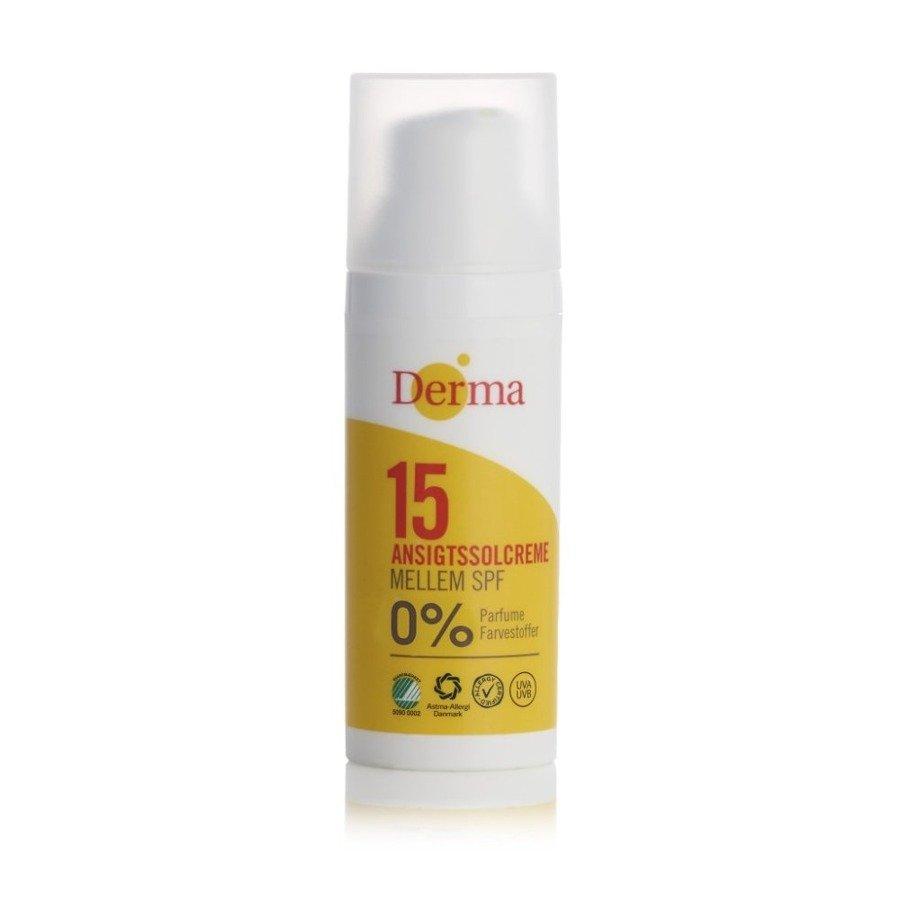 Derma Sun Krem przeciwsłoneczny do twarzy z filtrem SPF15 50 ml