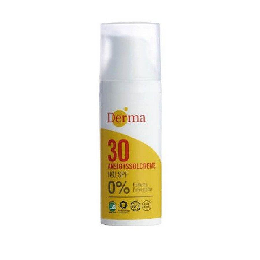 Derma Sun Krem przeciwsłoneczny do twarzy z filtrem SPF30