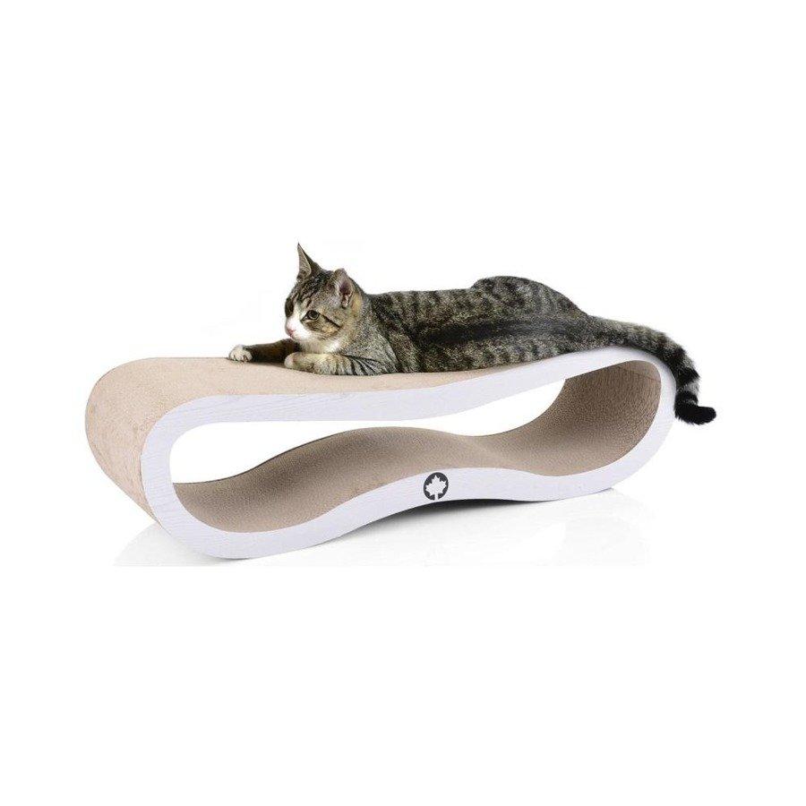 Drapak kartonowy dla kota CanadianCat Orbit 2.0 biały
