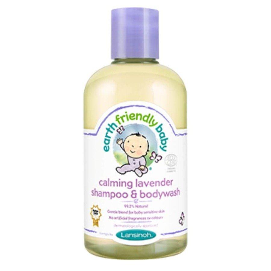 Earth Friendly Baby Organiczny szampon i płyn do mycia 2w1 o zapachu lawendy 250 ml