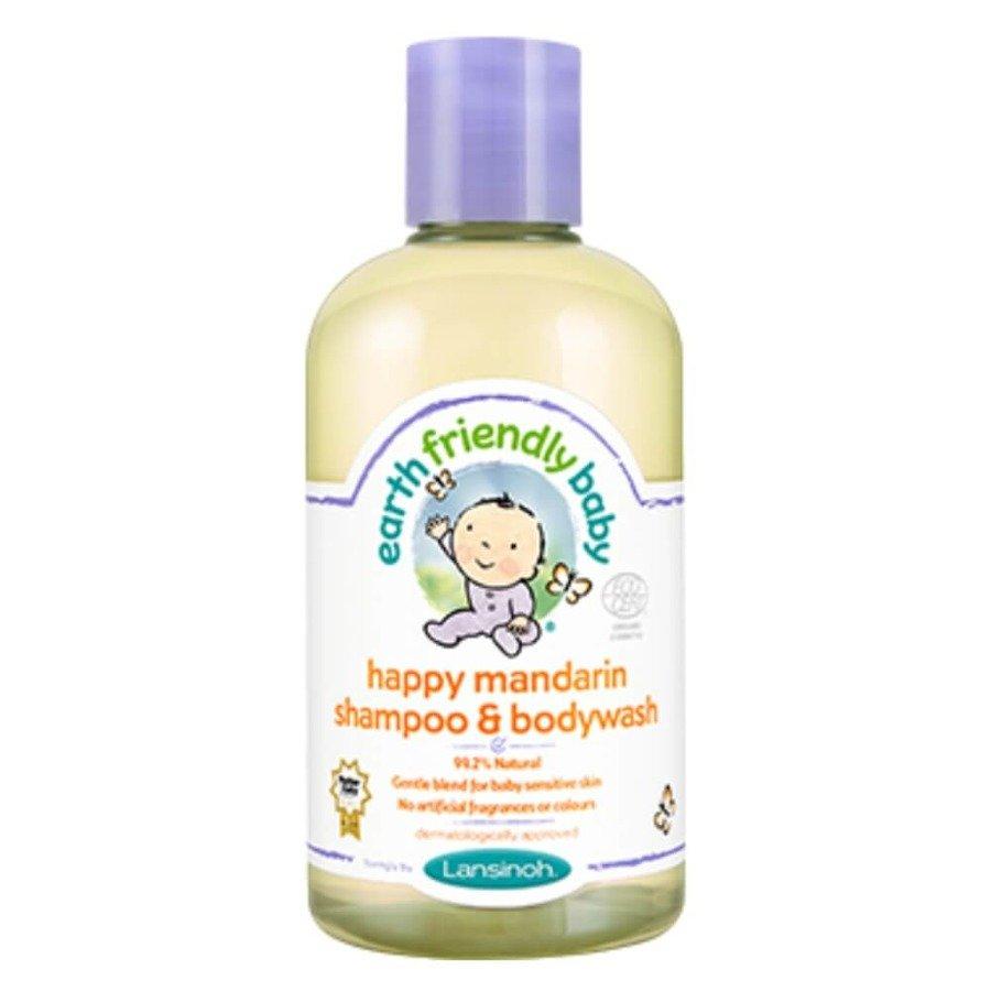 Earth Friendly Baby Organiczny szampon i płyn do mycia 2w1 o zapachu mandarynki