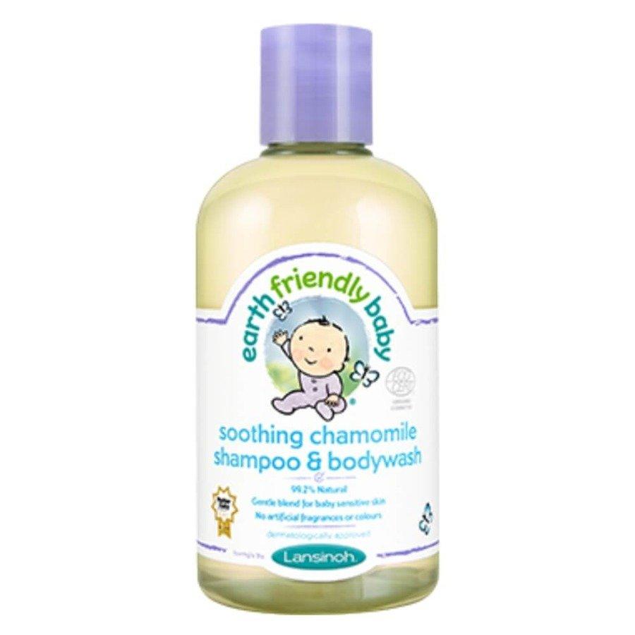 Earth Friendly Baby Organiczny szampon i płyn do mycia 2w1 o zapachu rumianku