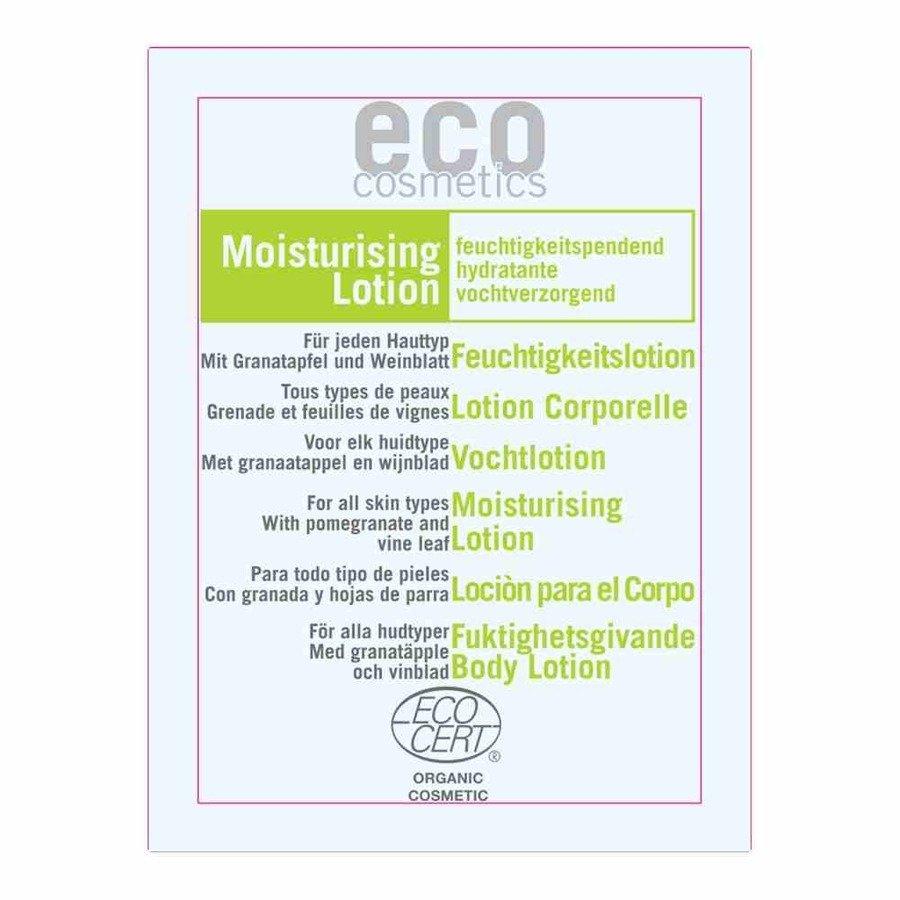 Eco Cosmetics Balsam nawilżający do ciała z winoroślą i granatem 2 ml