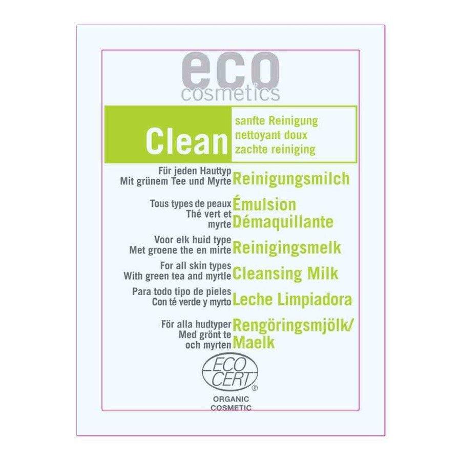 Eco Cosmetics Clean Mleczko oczyszczające do twarzy 3w1 2 ml