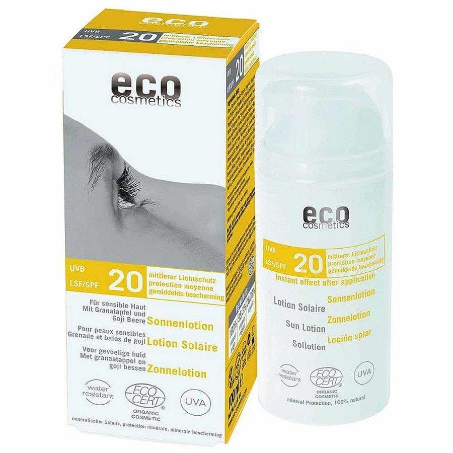 Eco Cosmetics Emulsja na słońce SPF20