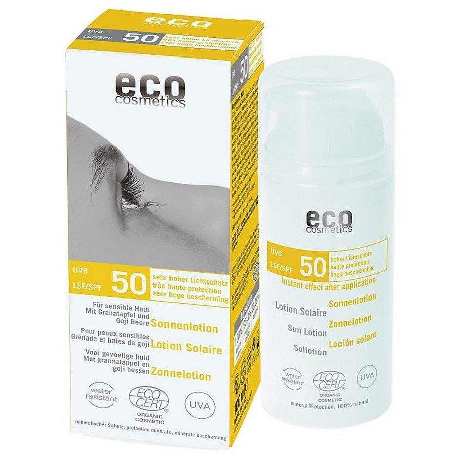 Eco Cosmetics Emulsja na słońce SPF50 100 ml